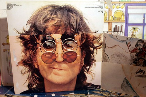 john lennon, walls and bridges,.. | by badgreeb RECORDS - art -photos