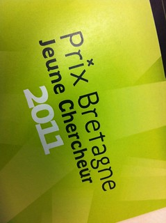 Prix Bretagne Jeune Chercheur 2011
