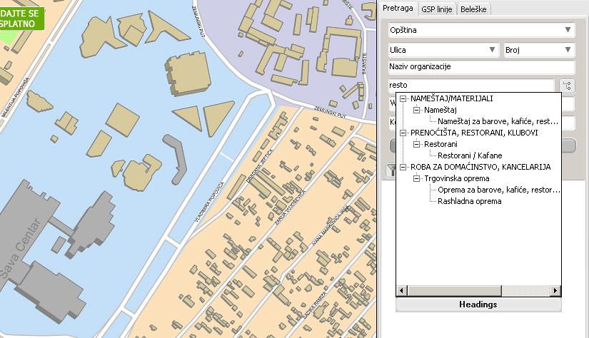 Gis Infograd Besplatna Mapa Beograda Koja Se Jednomesecno Flickr