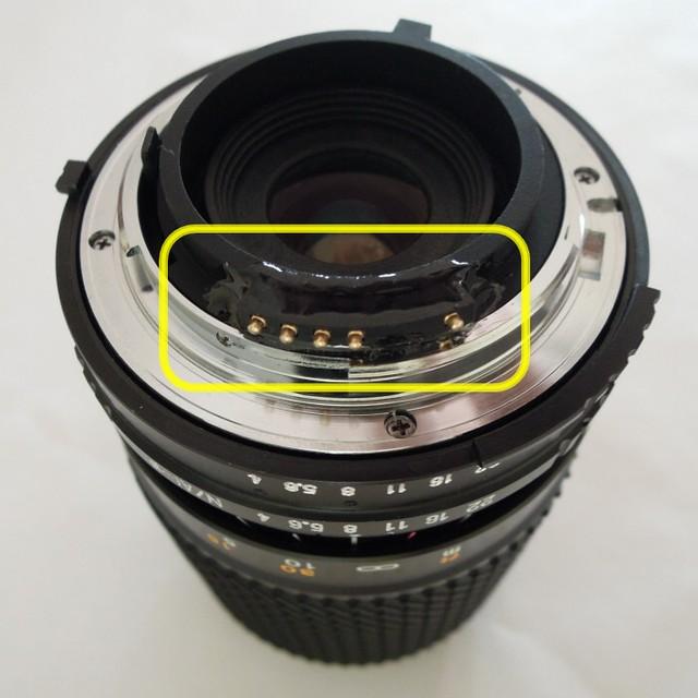 Tokina SZ-210 N, 70-210mm f4-5.6, chipped!!!