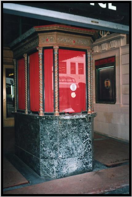 Akron Civic Theatre ~ Akron Ohio ~  Decor ~ Original ~ Ticket  Booth