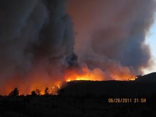 Las Conchas Fire - Apache Mesa