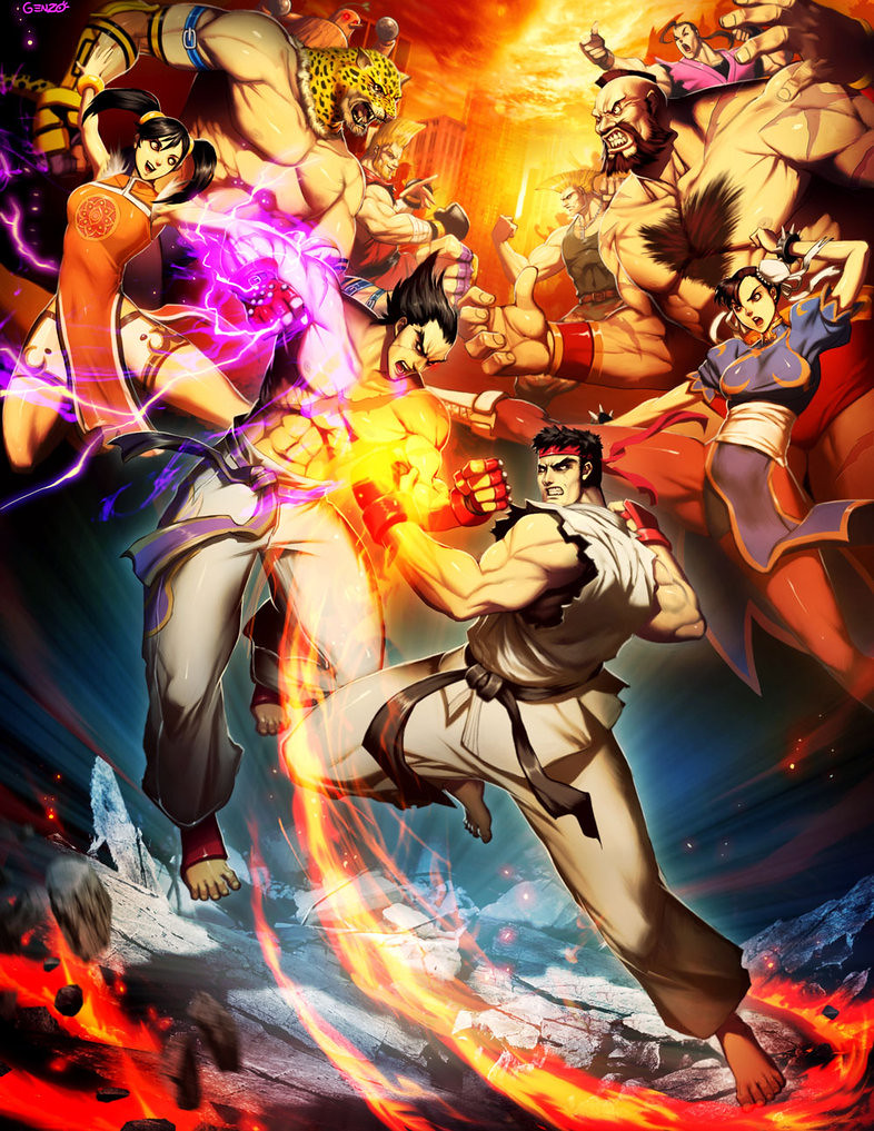 Street Fighter X Tekken Wallpapers Hd Www Gamezmentor Com