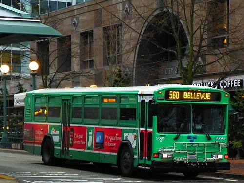 Sound Transit 2001 Gillig Phantom 9084k  Microsoft Wrap