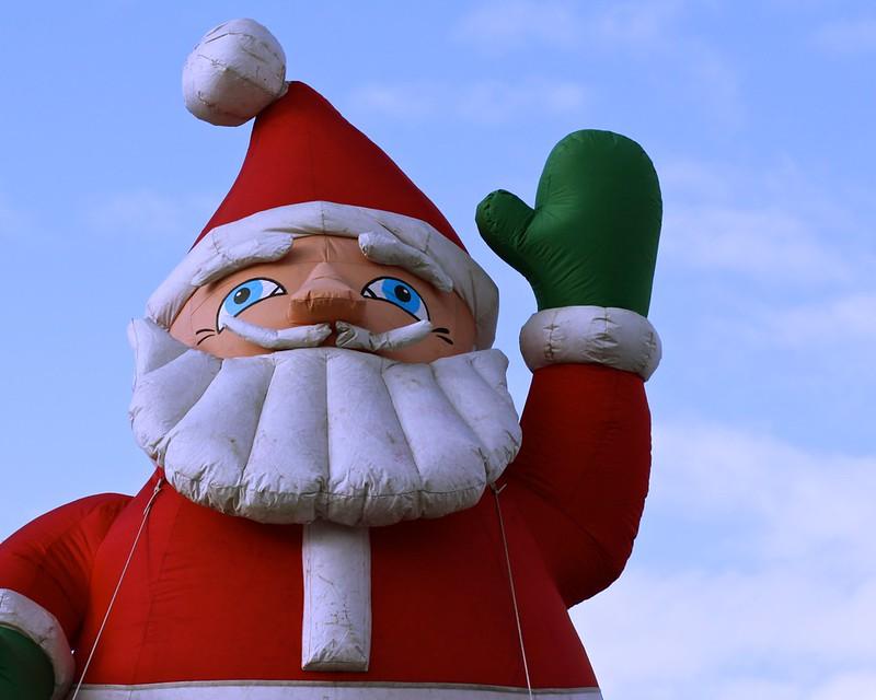 Gigant Inflatable Santa