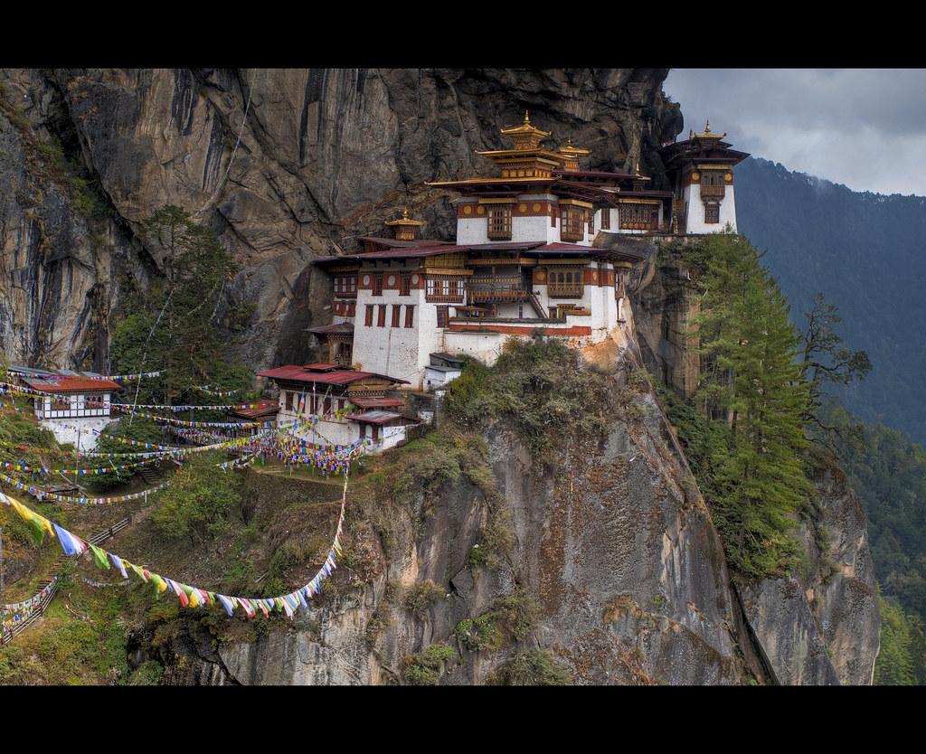Taktsang Monastery in Bhutan. Courtesy: Flickr