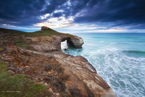 newzealand nz otago dunedin tunnelbeach