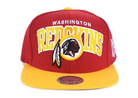 best sneakers 4232b f5758 NFL Mitchell & Ness - Washington Redskin Snapback Hat Cap ...