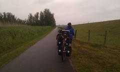 cycling to Belgium