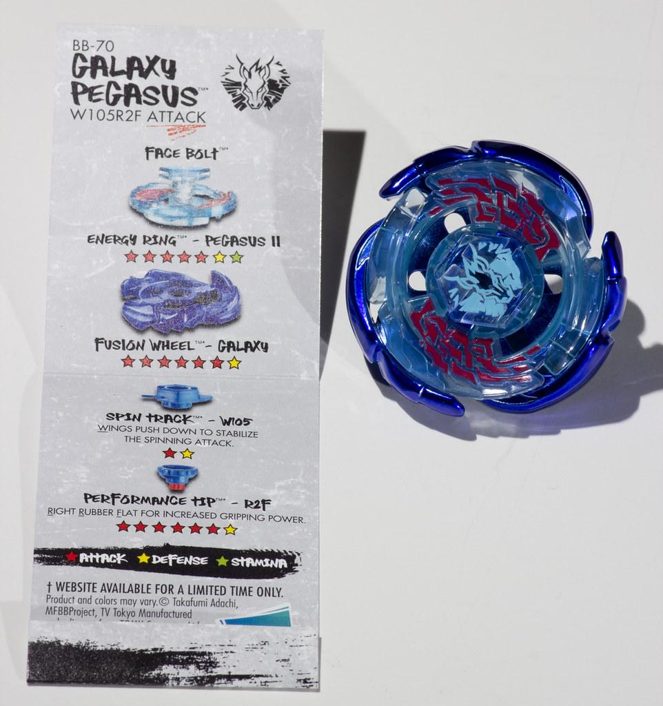 GALAXY PEGASUS W105R2F Unboxing - Metal Masters HASBRO Beyblade ... | 1024x962