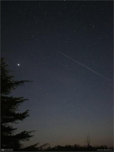 ireland night venus pegasus andromeda astrophotography planet cavan meteor constellation ulster topaz lighttrail shootingstar Astrometrydotnet:status=solved topazdenoise Astrometrydotnet:version=14400 Astrometrydotnet:id=alpha20120106295585
