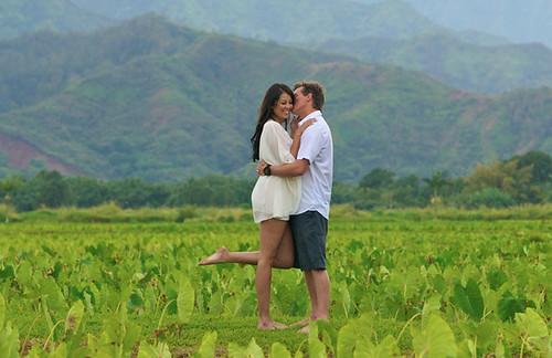 Kiss In Kauai by Bob Cox   by mrbesilly