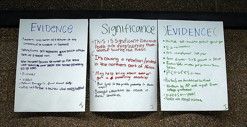 "Seattle's Nathan Hale High School: ""Evidence/Significance/Evidence"" 