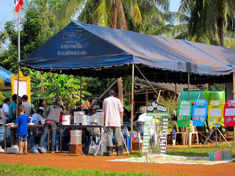 Energy fair. Koh Mak, Thailand