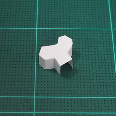 วิธีทำโมเดลกระดาษตุ้กตา คุกกี้ รัน คุกกี้รสซอมบี้ (LINE Cookie Run Zombie Cookie Papercraft Model) 007