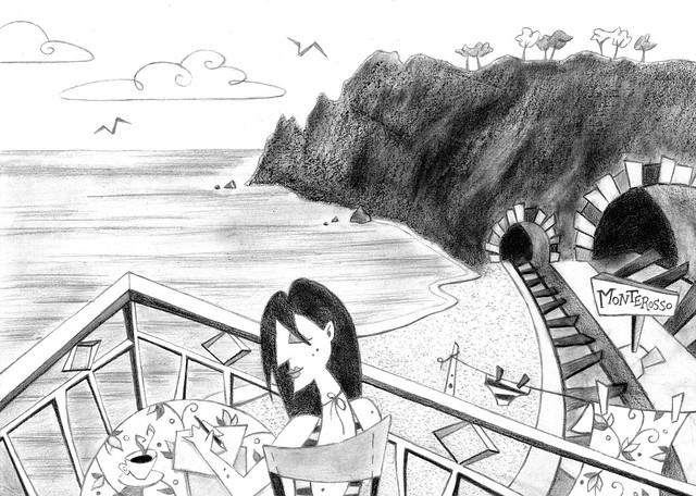 Pencil Drawing - Cartoon Illustration