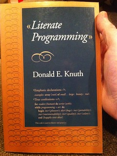 Literate Programming | by drdrang