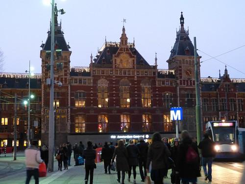 Amsterdam Centraal Station | by Nik Morris (van Leiden)