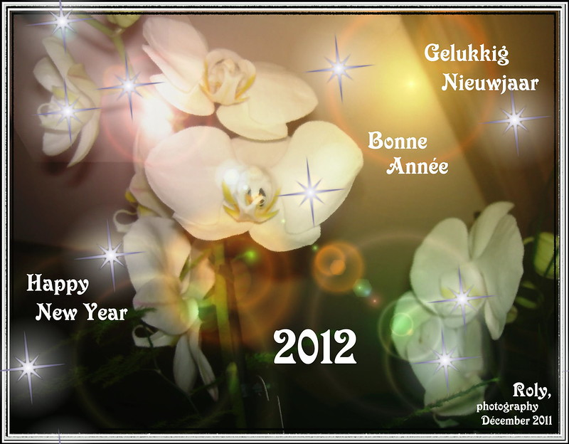 EXPLORE ...2012  Bonne Année ... Happy New Year ...Gelukkig Nieuwjaar