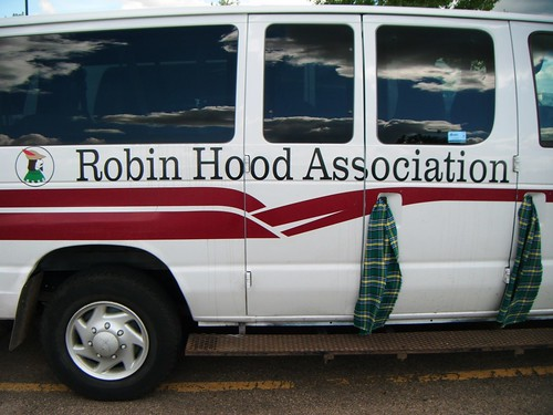 Tartan mash-up: Robin Hood