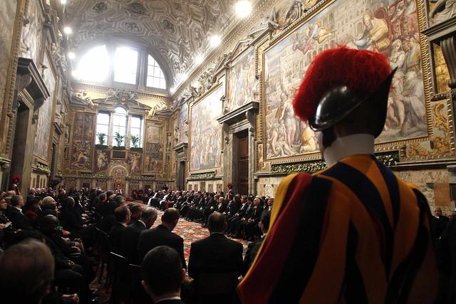 El Papa se reúne con Cuerpo Diplomático