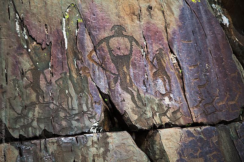Калбак-Таш, петроглифы