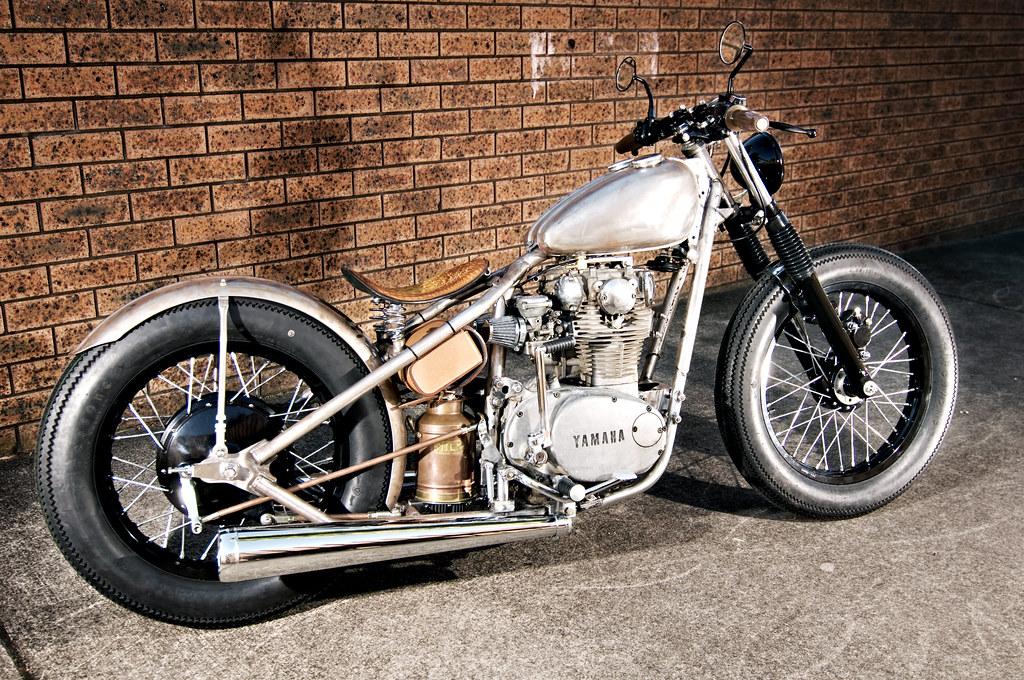 Thors Hammer Yamaha XS650 Bobber | Stephen Broholm | Flickr