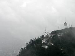 Monserrate desde el Cerro de Guadalupe