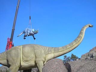 Flying Centrosaurus