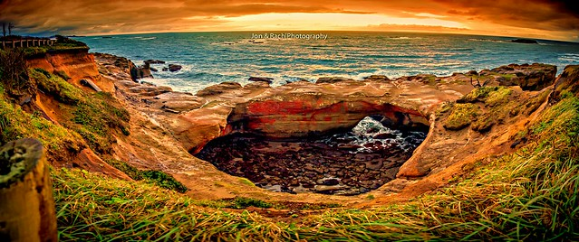 Devil's Punch Bowl, Newport,  OR