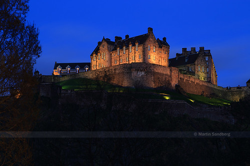 Blue hour at Edinburgh Castle | by Swedish Goose