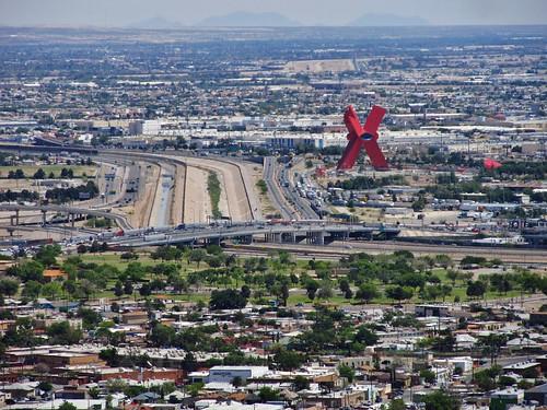 mexico texas view roadtrip elpaso viewpoint ciudadjuarez riogranderiver scenicdrive murchisonpark scenicdriveoverlook