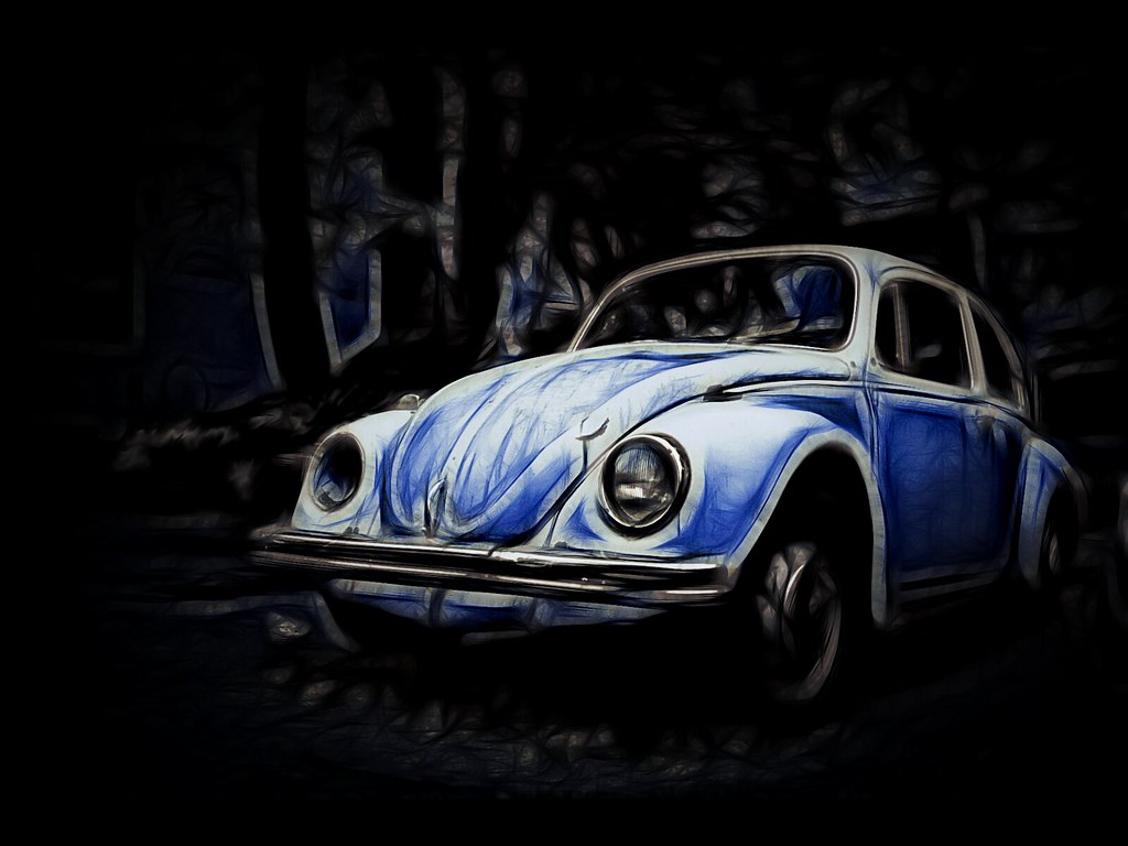 Vw Beetle Wallpaper This Is An Editphoto Manip Of One Of