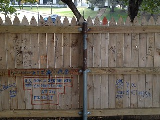 The picket fence on the Grassy Knoll | by chrisfreeland2002