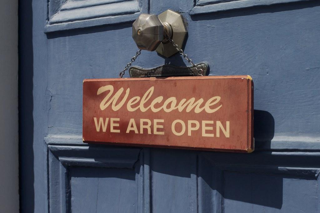Open is Welcoming