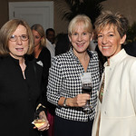 Eleanor Brewer '86, Vicki Johnson, Rhea Turteltaub