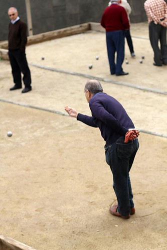 Old Men playing Bocce / Bochas, Barcelona, Spain | by MsAdventuresinItaly