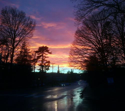 Sunset Over Arlington