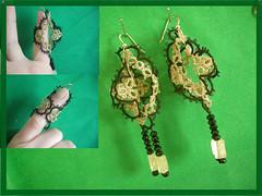 earrings kirigami