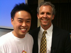Dave Save Tran and Charlie McDermott of Standout TV