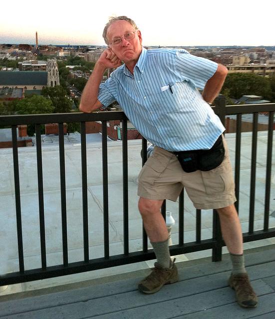 Midwest Tourist Lands Inside Beltway