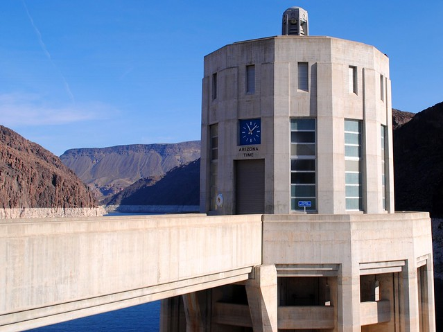 Arizona side of Hoover Dam