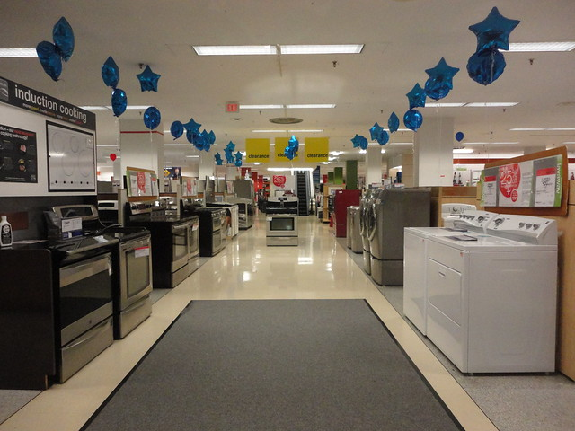 Appliance Section Of Soon To Be Closed Sears Store At
