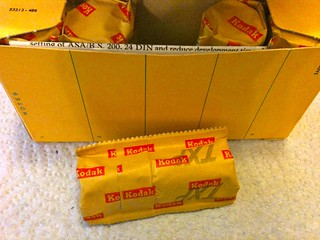 Tri-X Pan 120 film box - 7 | by redspotted