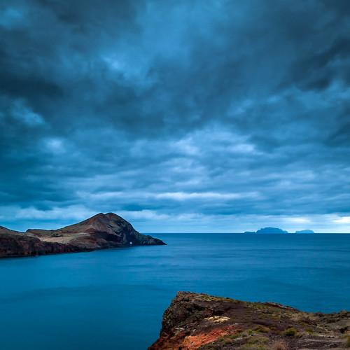 blue sea portugal clouds nikon madeira 2011 d700 distagont2821 pontadofurado