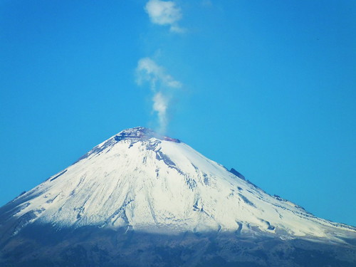 Crater Popocatepetl
