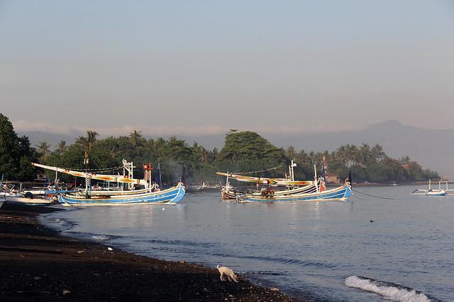 Sunrise on perahus