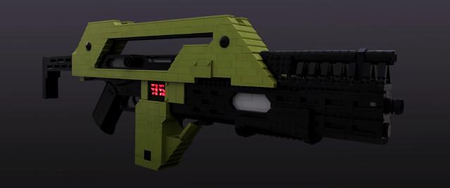 Aliens M41A Pulse Rifle - 01
