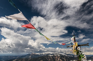 Prayer flags in Catalonia | by valcker