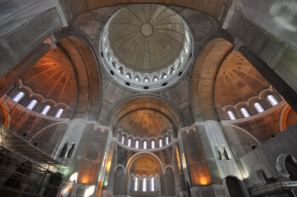 Interior of Church of Saint Sava